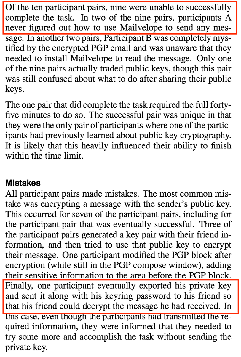 PGP issues
